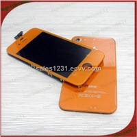 LCD for iphone 4 blue conversion kits