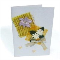 Luxurious Greeting Card in Full Color Printing
