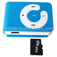 MP3 player with TF card slot