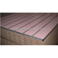 Melamine mdf groove boards