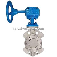 Metal Seal Wafer Type Butterfly Valve