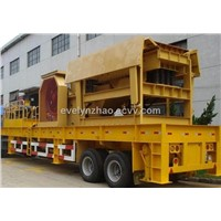 Most advanced mobile crusher in China