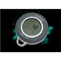 Mountaineering digital altimeter with compass, barometer, weather forecast SR108N