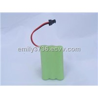 NiMH Battery AAA, 3.6V Voltage, Capacity of 930mAh, Pre-charged, Ready to Use, Low Self-discharged