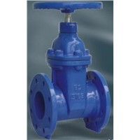 Non rising stem resilient soft seated gate valve BS5163