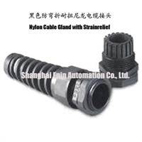 Nylon Cable Gland with Strainrelief