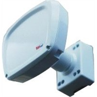 Perimeter Microwave Barrier with Up to 750-feet Detection Range