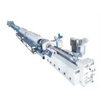 PE plastic pipe production line
