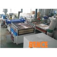 PP hollow grid production line
