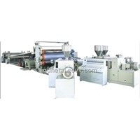 PVC sheet production extrusion machine