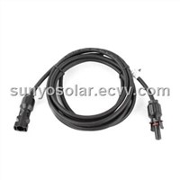 PV cable assemblies uesd for solar panel