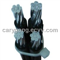 Parallel Bundled PVC Insulated Aerial Bundled Cable