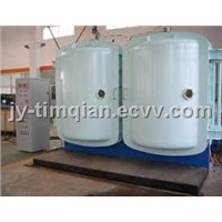 Perfume caps&bottles PVD vacuum metallizing coating machine