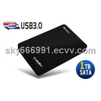 Plastic USB3.0 2.5'' Hard drive enclosure