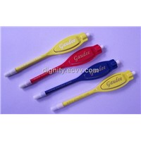 Plastic golf Pencils with eraser