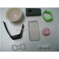 Plastic injection molded part