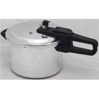 Polished Aluminum Pressure Cooker