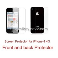 Popular!!! iphone 4g  Clear Screen Protector
