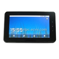 Qualcomm MSM7227 cpu 7inch multi touch tablet pc build in 3G SIM card slot make 2G 3G phone call