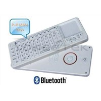 Remote Control with Mini Qwerty Bluetooth 3.0 Wireless Keyboard Touchapd (ZW-52006BT-Black)
