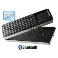 Remote Control with Qwerty Bluetooth Wireless Keyboard & Touchapd 3 in 1 (ZW-52006BT-Black)