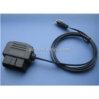 Right Angle OBD flat cable