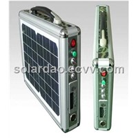 SD-FD-10W   10 W ultra-thin portable solar LED lighting music power supply system