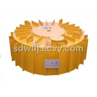 Series RCDB suspended dry electromagnetic iron separator