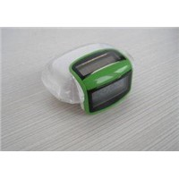 Solar pedometer with step count function as christmas gift