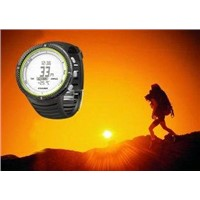 Sports watch with climbing altimeter, barometer, compass, time, countdown timer FX800