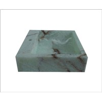Square Stone Bathroom Basin and Sink