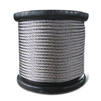 Stainless Steel Wire Rope with 7 x 7