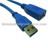 Super speed USB3.0 cable USB3.0 extension cable,USB3.0 CABLE AM TO AF
