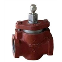 Threaded end plug valve