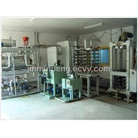 Vacuum press for making multilayer PCB