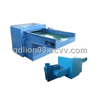 Vertical fiber opening machine