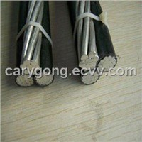 aluminium conductor XLPE insulated aerial bundled cable