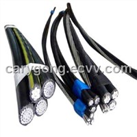 aluminium conductor XLPE insulated overhead cable