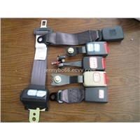 auto locking two point seat belt