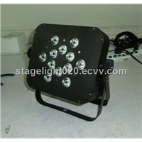 Hot Selling 12x10w RGBA Flat LED Par Cans