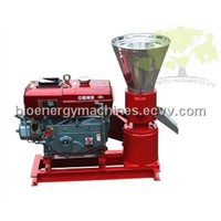 biomass energy machine /diesel wood pellet mill /BIO-KL-230 with 22HP )