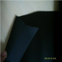 black non-halogenated flame retardant polycarbonate films and sheets