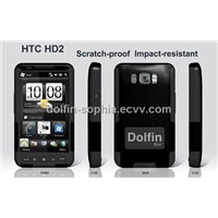 cell phone protective case/cover for HTC-HD2