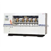 electric thin blade slitting scoring machine of carton packing machine