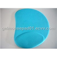 ergonomic gel mouse pad with wrist rests