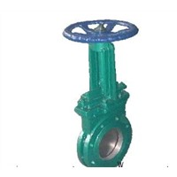 Knife Gate Valve - Bolted Gland, Cast or Ductile Iron Valve, Metal Seal, Brass Bronze Seal