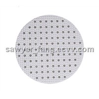 led ceiling light replace 2D fluorescent light.
