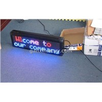 led time temperature display message screen
