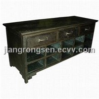 metal furniture,tin chest,tin cabinet
