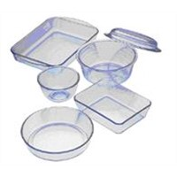 microwave oven glass ware